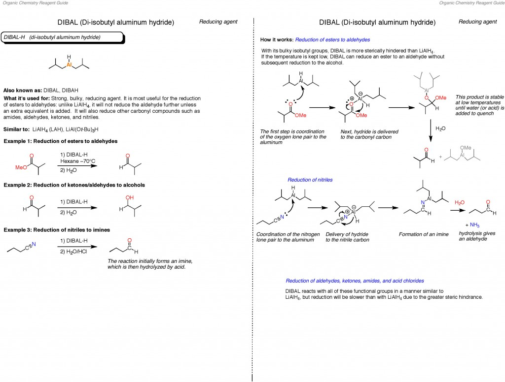 The Organic Chemistry Reagent Guide is here! – Master Organic Chemistry