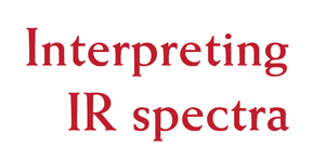 Pictorial Guide to Infrared Spectra