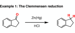 Reagent Friday: Zinc Amalgam (Zn-Hg)
