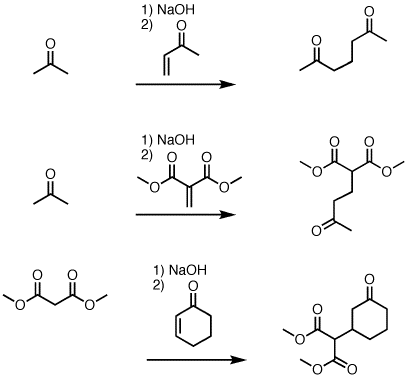 1 4 Addition Of Enolates To Enones The Michael Reaction Master