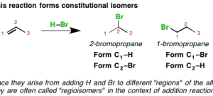 Addition Reactions: Regioselectivity