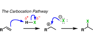 "Addition Pattern #1: The ""Carbocation Pathway"""