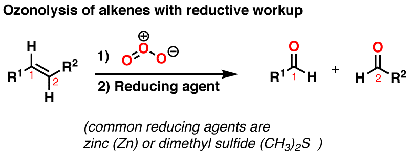 Alkene Reactions: Ozonolysis – Master Organic Chemistry