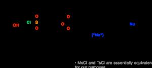 Tosylates And Mesylates