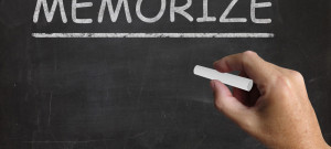 """What Does """"Don't Memorize!"""" Mean, Anyway?"""