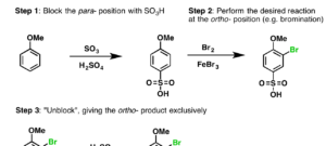 Aromatic Synthesis (3) – Sulfonyl Blocking Groups