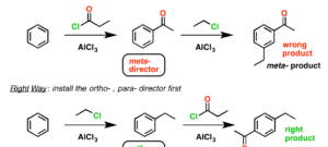 "Aromatic Synthesis (1) – ""Order Of Operations"""