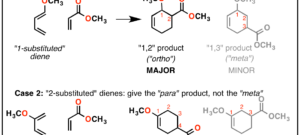 Regioselectivity In The Diels-Alder Reaction